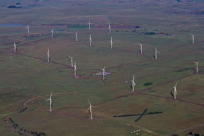 Dorper Wind Farm in South Africa